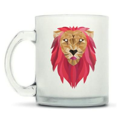Кружка матовая Лев / Lion