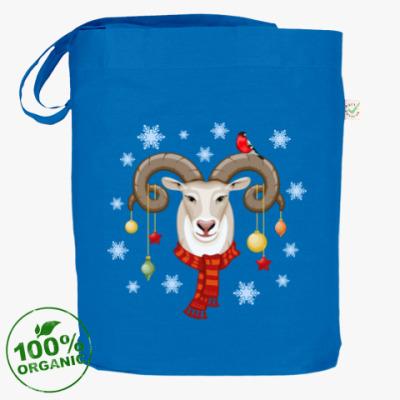 Сумка Новогодняя с символом 2015 овцой бараном