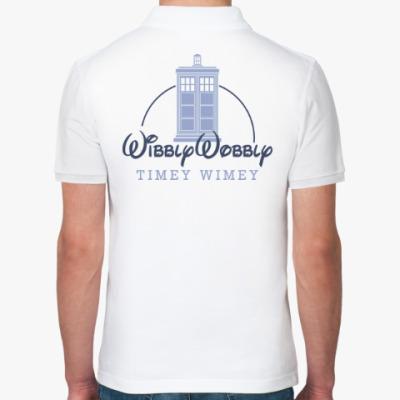 Рубашка поло Wibbly Wobbly Timey Wimey