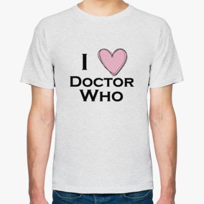 Футболка I love Doctor Who