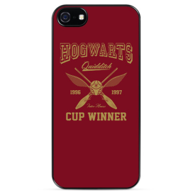 Чехол для iPhone Hogwarts Quidditch Cup Winner