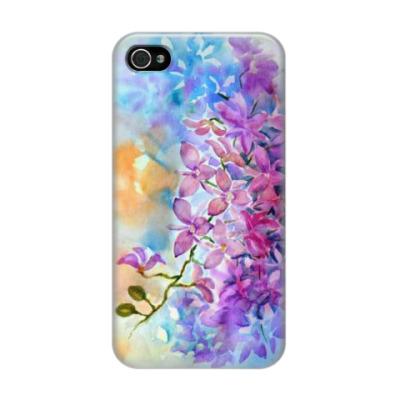 Чехол для iPhone 4/4s Ветка орхидеи