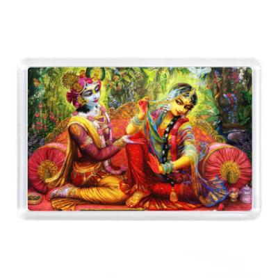 Магнит Радха и Кришна