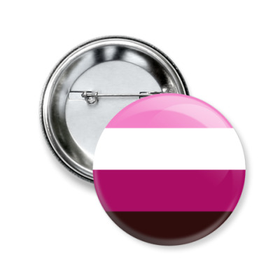 Значок 50мм Эйс-лесбиянки