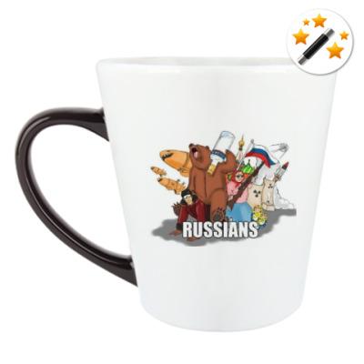 Кружка-хамелеон Россия