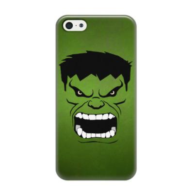 Чехол для iPhone 5/5s Hulk