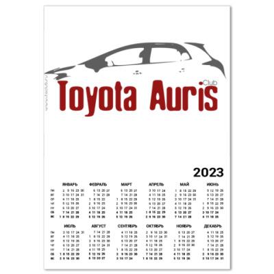 Календарь Календарь Auris Club