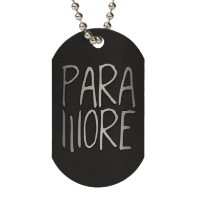 Жетон dog-tag Paramore
