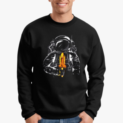 Свитшот Космонавт с леденцом