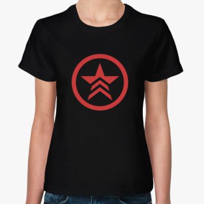 Женская футболка Mass Effect Renegade