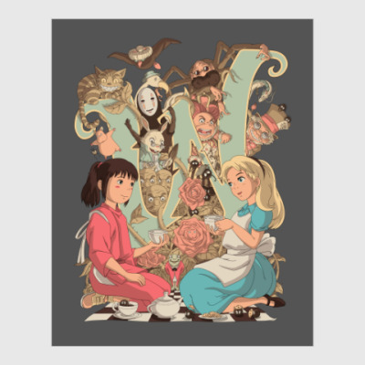 Постер Wonderland Alice and Chihiro