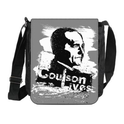 Сумка на плечо (мини-планшет) Coulson Lives