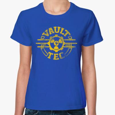 Женская футболка Fallout. Vault-Tec
