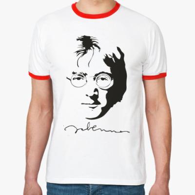 Футболка Ringer-T John Lennon