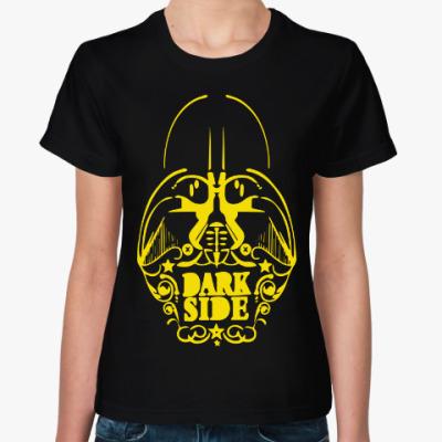Женская футболка Dark Side