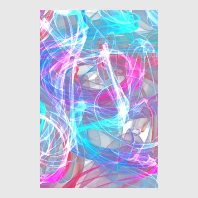 Постер abstract art design