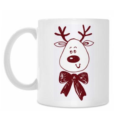 Кружка Рождественский олень