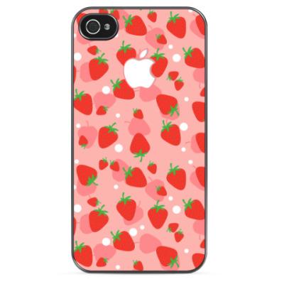 Чехол для iPhone Sweet Strawberries
