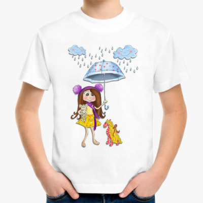 Детская футболка Счастливые мгновения!