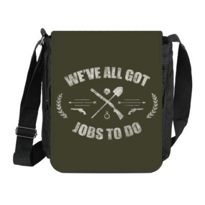 Сумка на плечо (мини-планшет) Walking Dead Ходячие мертвецы