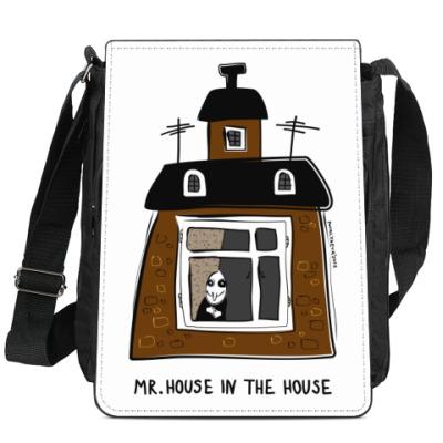 Сумка-планшет 'В домике'