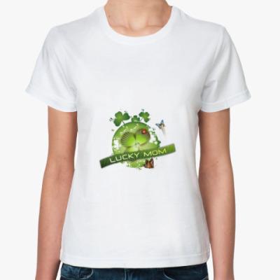 Классическая футболка Lucky mom