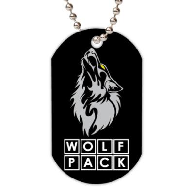 Жетон dog-tag WolfPack