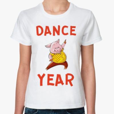 Классическая футболка DANCE YEAR