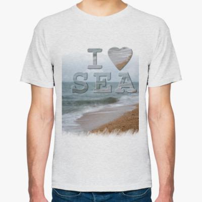 Футболка I LOVE SEA