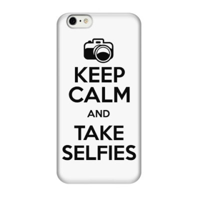 Чехол для iPhone 6/6s Keep Calm and Take Selfies