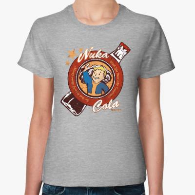 Женская футболка Fallout Nuka Cola Vault Boy
