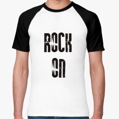 Футболка реглан Rock on