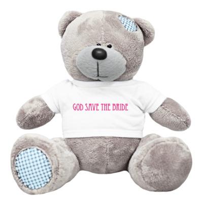 Плюшевый мишка Тедди 'God Save The Bride'