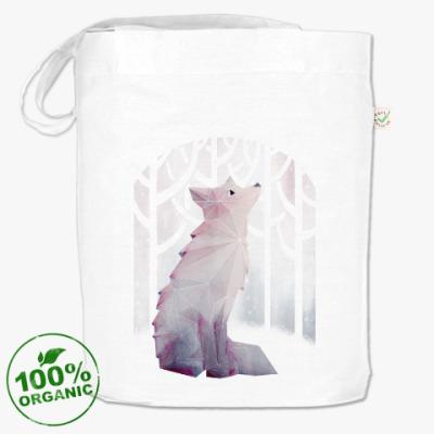 Сумка Зимний Лис в снегу Winter fox