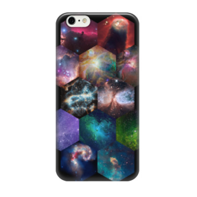 Чехол для iPhone 6/6s Космический гексагон