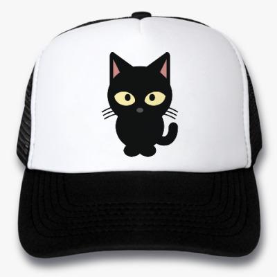Кепка-тракер Черный Котик