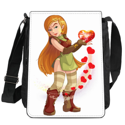 Сумка-планшет Сердце
