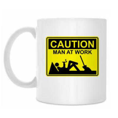 Кружка Man at work