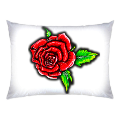 Подушка Летняя роза