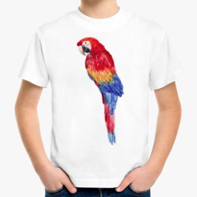 Детская футболка Какаду