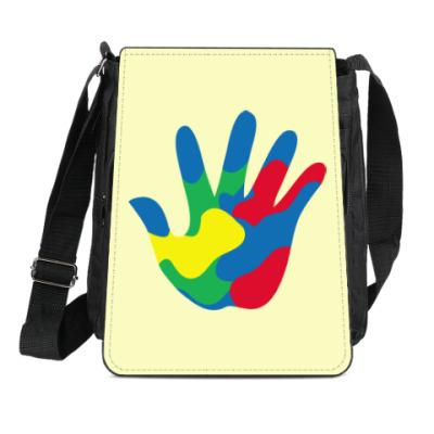 Сумка-планшет Отпечаток Руки