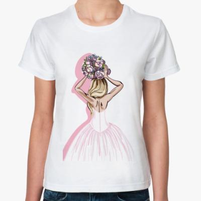 Классическая футболка Bride