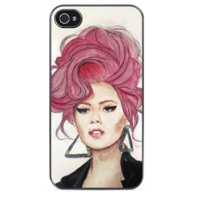 Чехол для iPhone Colored hair (InnaNovaArt)