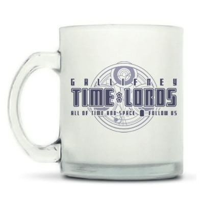 Кружка матовая Gallifrey Time Lords