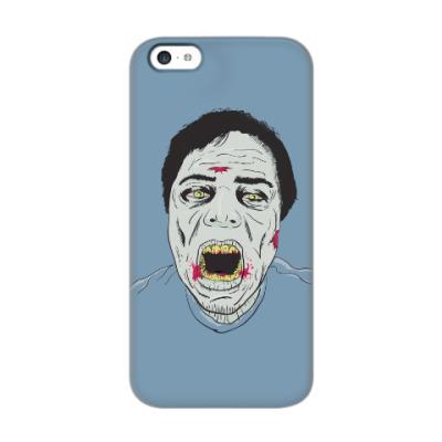 Чехол для iPhone 5c Зомби