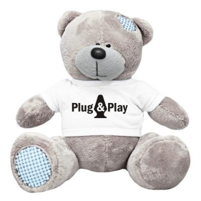 Плюшевый мишка Тедди Plug&Play