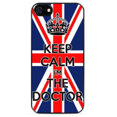 Чехол для iPhone KEEP CALM i'm THE DOCTOR