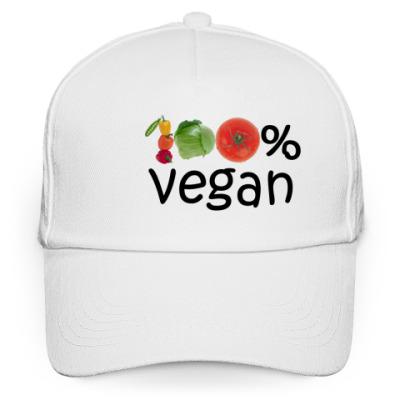 Кепка бейсболка вегетарианство