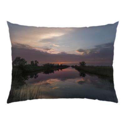 Подушка Майский закат