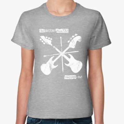 Женская футболка ОВА